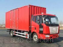 柳特神力牌LZT5161XXYPK2E4L5A95型厢式运输车