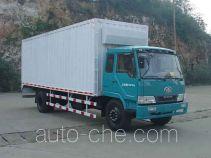 FAW Liute Shenli LZT5161XXYPK2E3L1A95 cabover box van truck