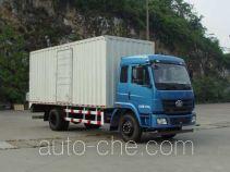 FAW Liute Shenli LZT5161XXYPK2E4L3A95 box van truck