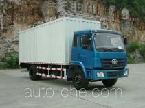 FAW Liute Shenli LZT5162XPYPK2E3L1A95 cabover box van truck with soft canopy top