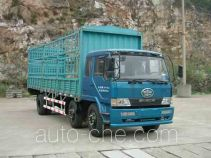 FAW Liute Shenli LZT5166CXYPK2E3L4T3A95 бескапотный грузовик с решетчатым тент-каркасом
