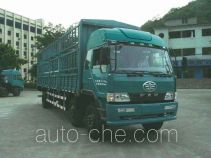 FAW Liute Shenli LZT5166CXYPK2E3L9T3A95 бескапотный грузовик с решетчатым тент-каркасом
