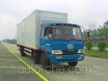 FAW Liute Shenli LZT5211XXYPK2E3L9T3A95 cabover box van truck