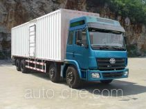 FAW Liute Shenli LZT5241XXYPK2E3L11T4A95 cabover box van truck
