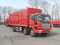 柳特神力牌LZT5250CCQPK2E5L8T3A95型畜禽运输车