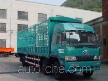 FAW Liute Shenli LZT5252CXYPK2E3L10T3A95 бескапотный грузовик с решетчатым тент-каркасом