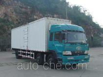 FAW Liute Shenli LZT5252XXYPK2E3L10T3A95 cabover box van truck