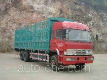 FAW Liute Shenli LZT5255CXYP2K2E3L3T1A92 бескапотный грузовик с решетчатым тент-каркасом