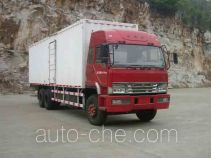 FAW Liute Shenli LZT5255XXYP2K2E3L3T1A92 cabover box van truck