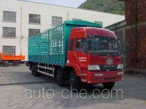 FAW Liute Shenli LZT5270CXYPK2E3L11T2A90 бескапотный грузовик с решетчатым тент-каркасом