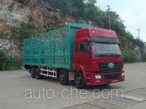 FAW Liute Shenli LZT5312CCQPK2E3L11T2A90 cabover livestock transport truck