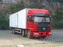 FAW Liute Shenli LZT5314XXYPK2E4L11T4A92 box van truck
