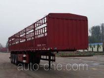 聚运达牌LZY9400CCY型仓栅式运输半挂车