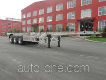 Lusi MBS9401TJZLH aluminium container trailer