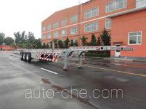 Lusi MBS9409TJZLH aluminium container trailer