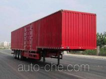 Jiyun box body van trailer