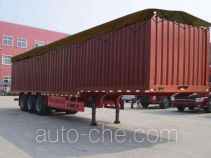 Jiyun MCW9402CPY soft top box van trailer