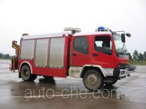 振翔牌MG5110TXFJY75型抢险救援消防车