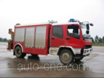 振翔牌MG5110TXFJY75X型抢险救援消防车