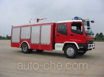 Zhenxiang MG5150TXFFE29X dry carbon dioxide combined fire engine