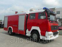 Zhenxiang MG5190GXFPM80/A foam fire engine