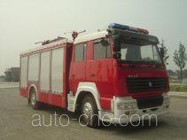 Zhenxiang MG5190TXFGP65 dry powder and foam combined fire engine