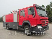 Zhenxiang MG5200GXFPM80 foam fire engine