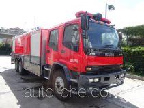 Zhenxiang MG5230GXFPM100 foam fire engine