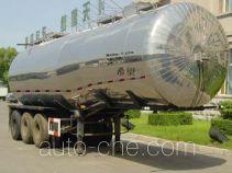 Semi-liquid bulk food trailer