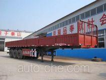 通广九州牌MJZ9400TZX型自卸半挂车