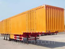 Tongguang Jiuzhou MJZ9401XXY box body van trailer