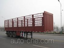 通广九州牌MJZ9406CLX型仓栅式运输半挂车
