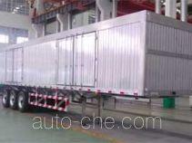 Aluminium box van trailer