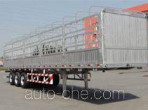 铝合金仓栅式运输半挂车