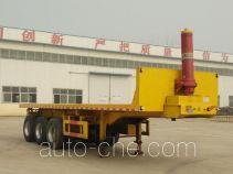 Hengzhen MKW9400ZZXP flatbed dump trailer