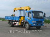 Quanyun MQ5163JSQJ truck mounted loader crane