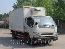 Putian Hongyan MS5040XLCJ refrigerated truck