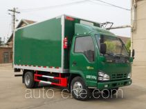 Putian Hongyan MS5072XXY box van truck