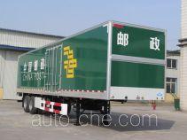 Putian Hongyan MS9290XYZ postal van trailer