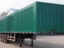 Mengshan MSC9282XXY box body van trailer