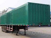 Mengshan MSC9400XXY box body van trailer
