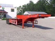 萌山牌MSC9400TDP型低平板半挂车