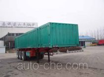 Mengshan MSC9404XXY box body van trailer