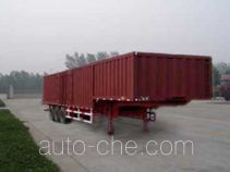 Shiyun MT9390XXY box body van trailer