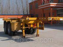Chengxinda MWH9350TWY dangerous goods tank container skeletal trailer