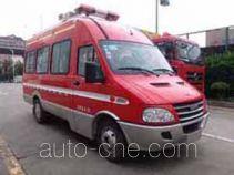 光通牌MX5040XXFTZ1000/NJ型通讯指挥消防车