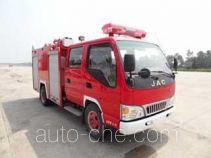 Guangtong (Haomiao) MX5070GXFSG20/HF fire tank truck