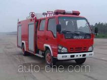 Guangtong (Haomiao) MX5070GXFSG20/QL fire tank truck