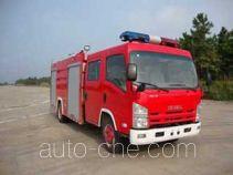 Guangtong (Haomiao) MX5100GXFSG30 fire tank truck
