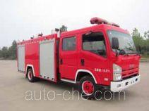Guangtong (Haomiao) MX5101GXFSG30 fire tank truck